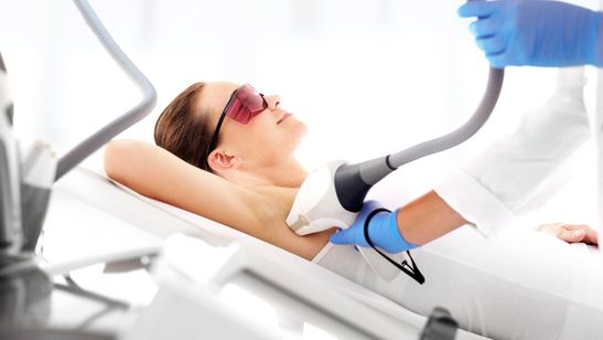 Excellent results are produced from our laser hair removal treatment.
